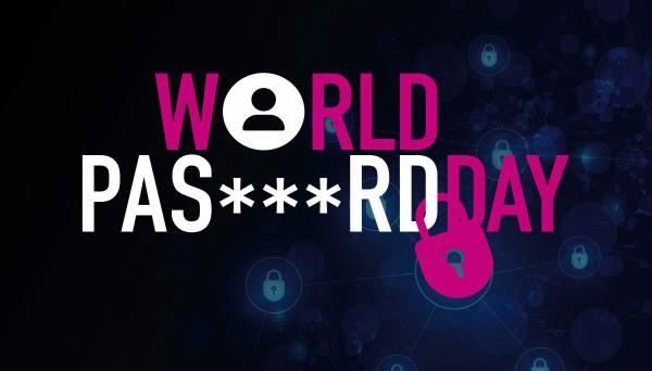 World password day logo and date 7th May